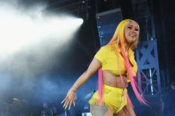 "Cardi B's Hitting The Gym Because She's Never ""Getting Surgery Again"""