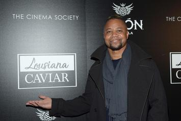 Surveillance Tape Shows Cuba Gooding Jr. Grabbing Accuser's Thigh & Breast While His GF Sits Next To Him