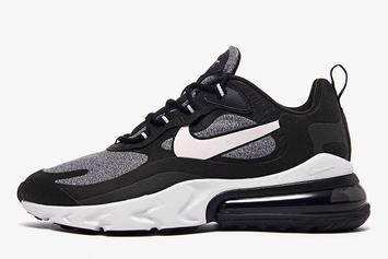"Nike Air Max 270 React ""Black & White"" Drops Next Month: Detailed Images"