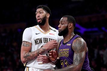 LeBron James & AD Won't Be Given Another Max Player: Report