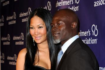 Kimora Lee Simmons & Djimon Hounsou Privately Arrange Custody Agreement