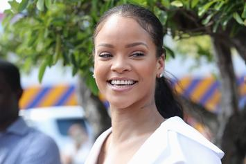 Rihanna Gets Day Drunk With Seth Meyers & Gives Him A Fenty Makeover