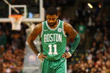 """Kyrie Irving """"Didn't Like"""" Boston: Report"""