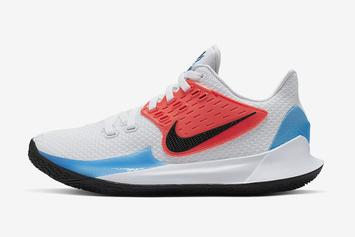 finest selection 77ec0 a1f31 Nike Kyrie Low 2 Revealed In Crimson   Blue Colorway  Official Details