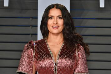"Salma Hayek May Be Joining The Cast Of Marvel's ""The Eternals"""