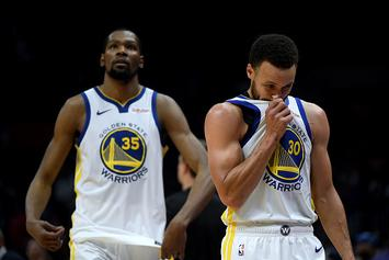 "Kevin Durant Felt Like ""Distant Second Fiddle"" To Steph Curry: Report"