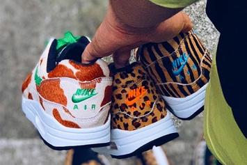 "Atmos Teases Nike Air Max 1 ""Animal Pack 3.0"" Collaboration"