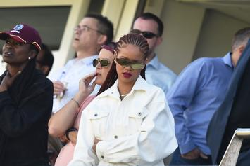 WATCH: Rihanna Gets Teary As She Reunites With Her High School Gym Teacher
