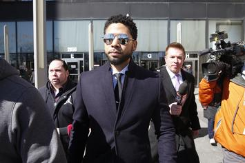 Jussie Smollett & Osundairo Brothers At Scene Of The Crime In New Footage