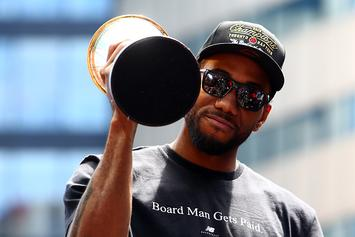 Kawhi Leonard Arrives In Toronto As Free Agency Decision Looms: Video