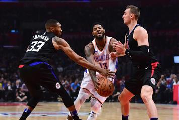 """Clippers Garner Highest """"NBA Title Odds"""" With Additions Of George, Kawhi Leonard"""