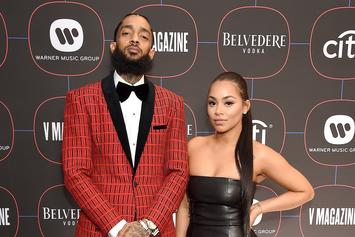"""Lauren London Rewinds With Old Nipsey Hussle Photo: """"Always Had A Crush On Him"""""""