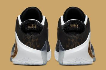 """Giannis' Nike Zoom Freak 1 """"Coming To America"""" Drops Next Month: Official Photos"""