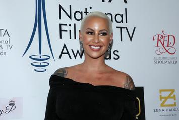 Amber Rose Finds Humour In Pregnant Paparazzi Meme Comparing Her To Butt-Head