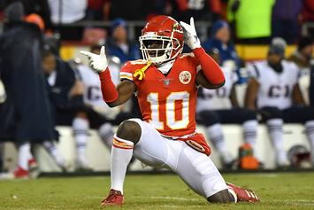 NFL Announces Decision On Chiefs' Tyreek Hill Following Investigation