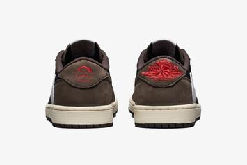 Travis Scott x Air Jordan 1 Low Official Images Revealed
