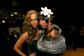 "Tyra Banks Talks Naomi Campbell & Their Past Tension: ""It Wasn't A Rivalry"""