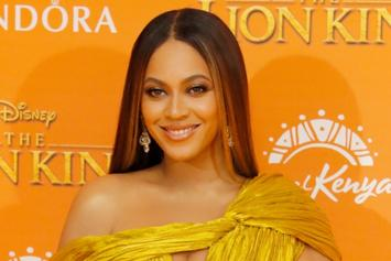 Beyonce Shows Off Her Curves In A Gorgeous Burgundy Gown For Gatsby Party