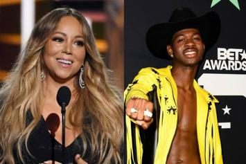 Mariah Carey Passes Torch To Congratulate Lil Nas X On 17th Week At No. 1