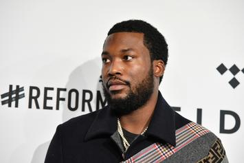 Meek Mill Shares Rare Photo Of His Son; Fans Think He Looks Like NBA YoungBoy