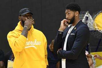 """LeBron James """"Taco Tuesday"""" Details Exposed By Anthony Davis"""