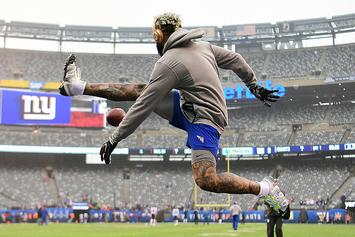 Odell Beckham Jr. Shows Off With Series Of One-Handed Catches: Watch