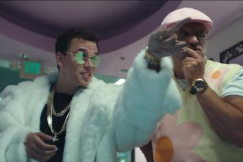 """Logic & Gucci Mane Choose Between Dripping Or Drowning In """"Icy"""" Visual"""