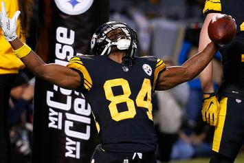 Antonio Brown Shows Off Disgusting Calluses On His Feet