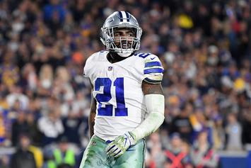 Ezekiel Elliott Threatens To Sit Out All Season Unless New Contract Reached
