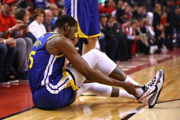 Kevin Durant Continues To Make Achilles Progress Without Crutches: Photos