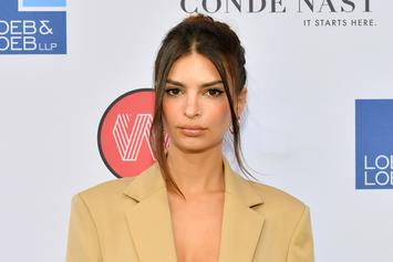 Emily Ratajkowski Shows Off Her Armpit Hair For Harper's Bazaar Feminist Essay
