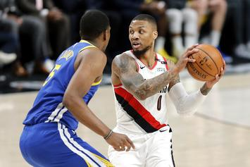 """Damian Lillard Excitedly Freestyles To Lil Nas X's """"Old Town Road:"""" Watch"""