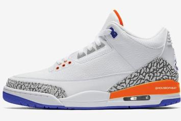 "DJ Khaled Previews ""Knicks"" Air Jordan 3 Colorway: Watch"