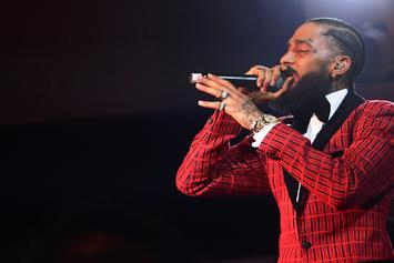 """Nipsey Hussle Raps About 6ix9ine Snitching On Rick Ross' """"Port Of Miami 2"""""""