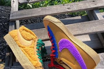 Cactus Plant Flea Market x Nike Blazer Mid Collab In The Works: First Look