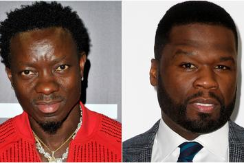 """Michael Blackson Asks For Extension On 50 Cent Loan: """"No Need To #GetTheStrap"""""""