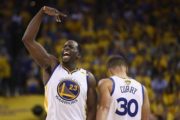 "Draymond Says Warriors Are Embracing Underdog Role: ""I've Missed That Chip"""