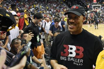 Lonzo Ball & LaVar Ball Argue Over The Future Of Big Baller Brand: Watch