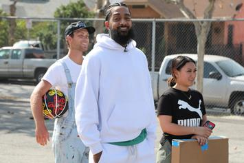 Nipsey Hussle's Marathon Store Fenced Off On His 34th Birthday