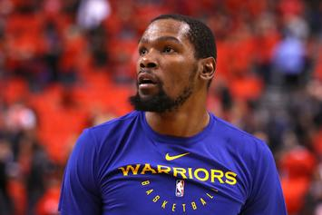Kevin Durant Was Tasked With Cheering Up Team USA After G-League Loss