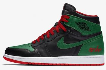 "Air Jordan 1 ""Gucci"" Colorway Rumored To Release After All Star Weekend"