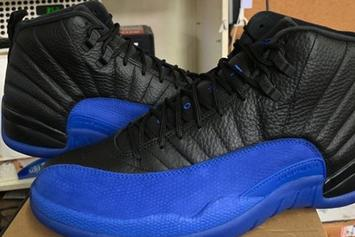 """Air Jordan 12 """"Game Royal"""" Rivals The """"Flu Game"""" In New In-Hand Photos"""