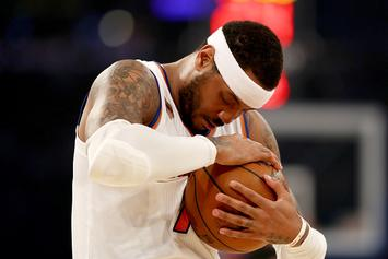 Carmelo Anthony, Hasheem Thabeet To Scrimmage With Knicks Today: Report
