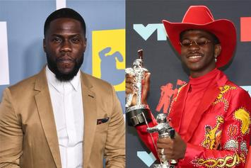 """Kevin Hart Accused Of Homophobia After Pressing Lil Nas X On """"The Shop:"""" Watch"""