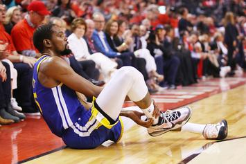 Kevin Durant Has Fans Hopeful With Latest Achilles Rehab IG Post