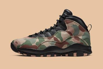 "Air Jordan 10 ""Desert Camo"" Now Available: Purchase Links"
