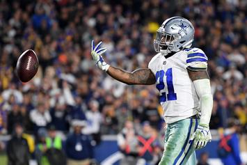 Ezekiel Elliott Celebrates New Contract With Massive Donation To Charity
