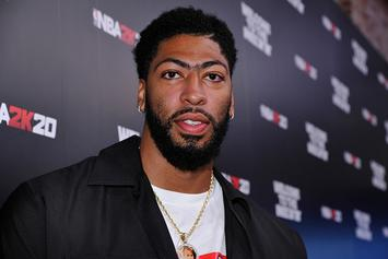 "Lakers' Anthony Davis ""Not Fun Enough"" For LeBron James' Taco Tuesday"