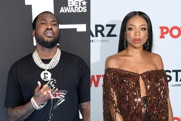 Meek Mill Curves Lil Mama's Romance Attempt On Pic Of Kehlani & YG