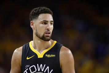 Klay Thompson Jokingly Flexes Pitiful Nunchuck Skills While In China: Watch